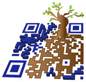 Creatieve QR-code 01