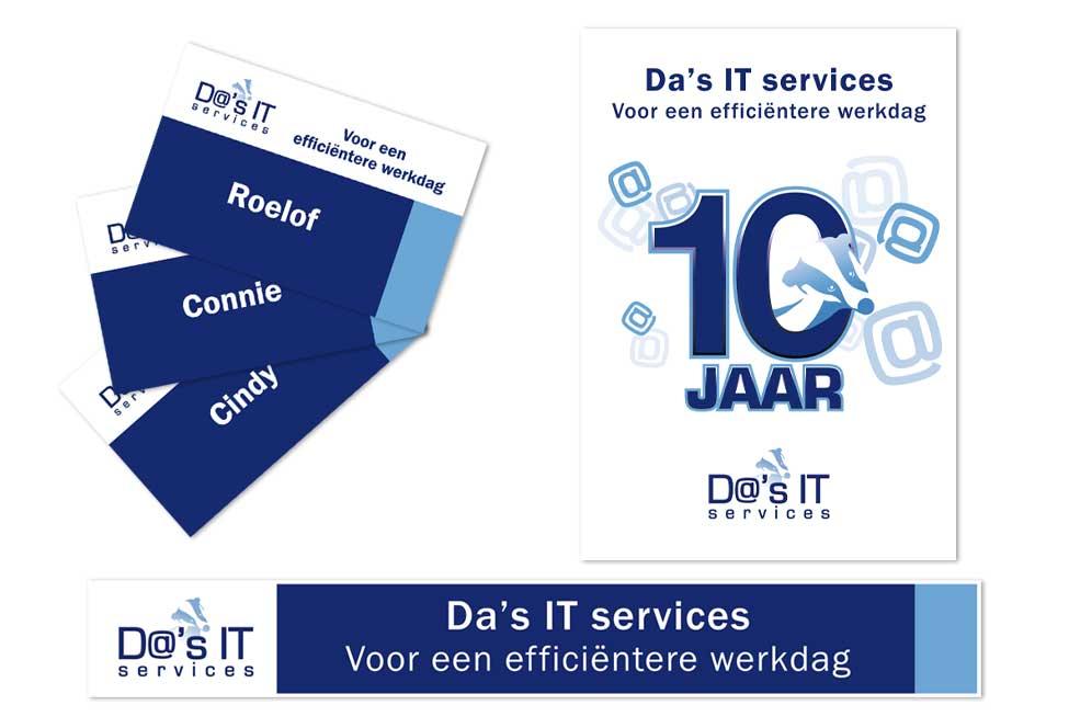Fenexpo beursmaterialen Da's IT services
