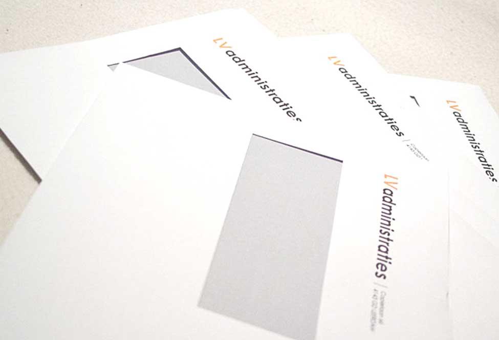 Enveloppen voor LV administraties