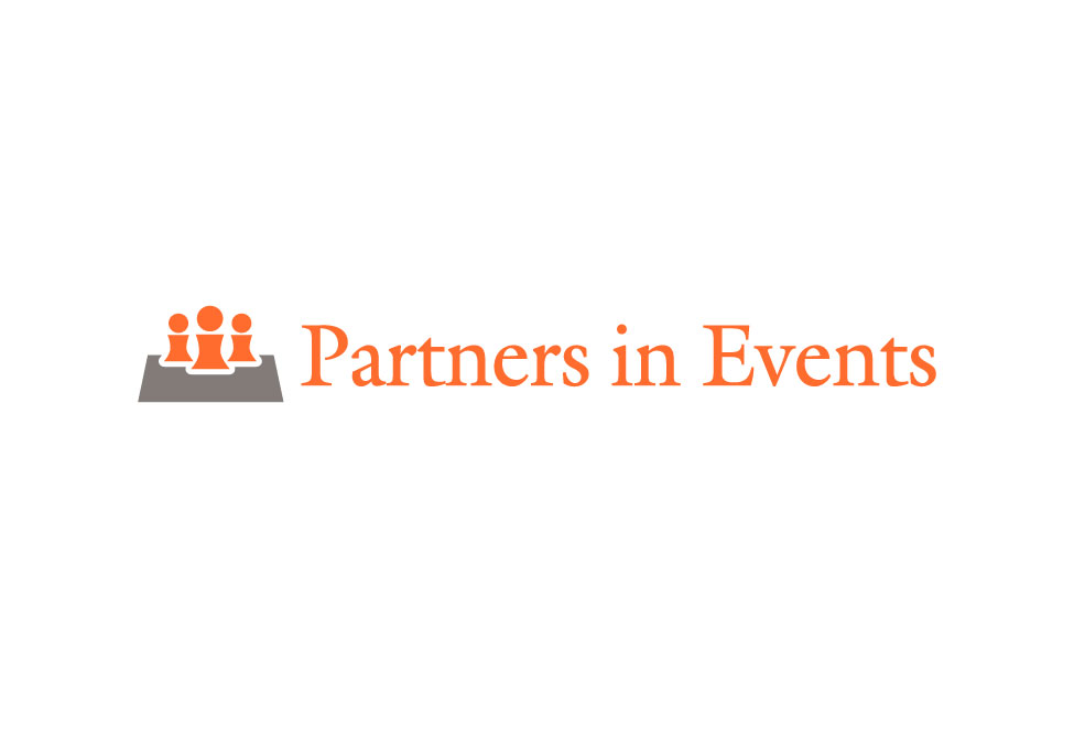 Ontwerp logo Partners in Events