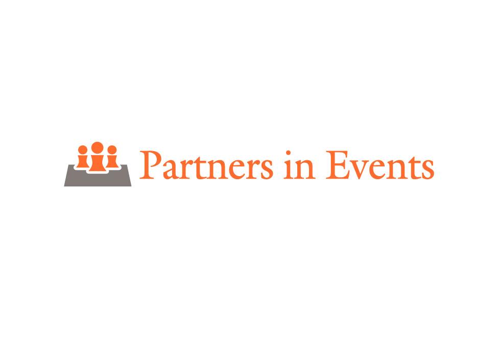 Ontwerp logo Partners in Events