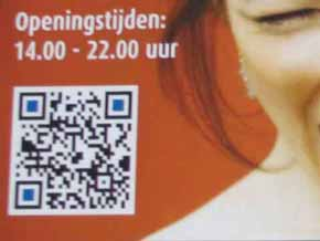 Overal QR-codes