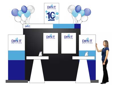 Diverse FenExpo-promotie materialen Da's IT services