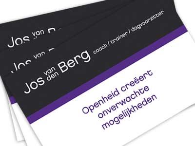 Visitekaartje Jos van den Berg