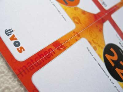 Grafisch ontwerp netwerkspelkaart 'Meet-Ur-Match'