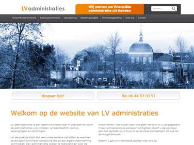 Website LV administraties