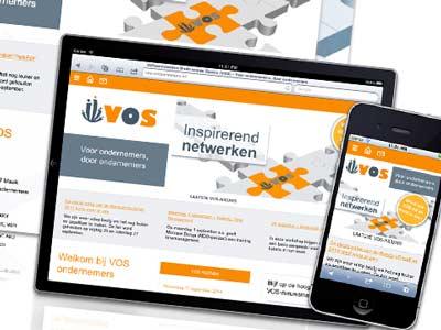 Nieuwe website voor VOS (Vijfheerenlanden Ondernemen Samen)