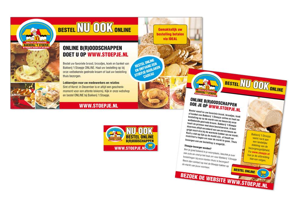 Advertenties Bakkerij 't Stoepje